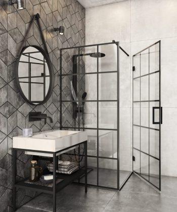 Stikla duškabīnes un vannas sienas
