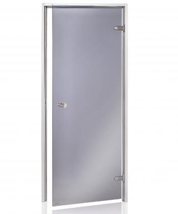 Stikla durvis ar alumīnija kārbu (tvaika pirtīm)