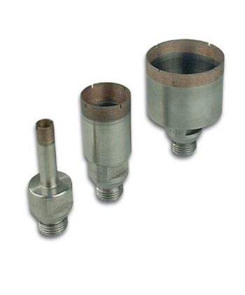 For glass drilling